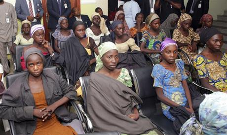 82 freed Chibok schoolgirls arrive in Nigeria's capital_407129