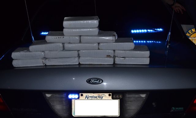 33 pounds of heroin seized in semi during Kentucky traffic stop_407846