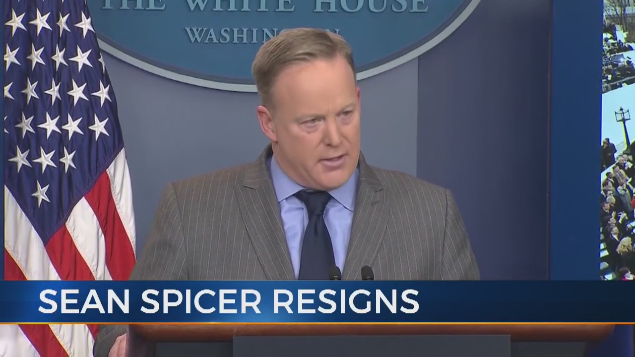 Sean Spicer resigns from White House position