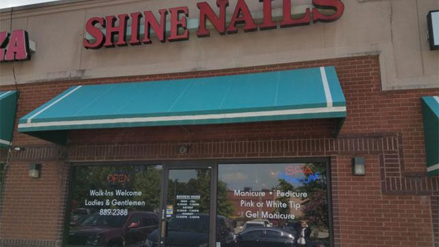 Shine Nails Metro police raid businesses human trafficking prostitution_427112