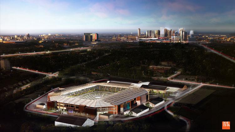 Major League Soccer MLS stadium_434593