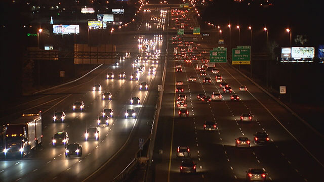 Nighttime interstate traffic Generic_344583