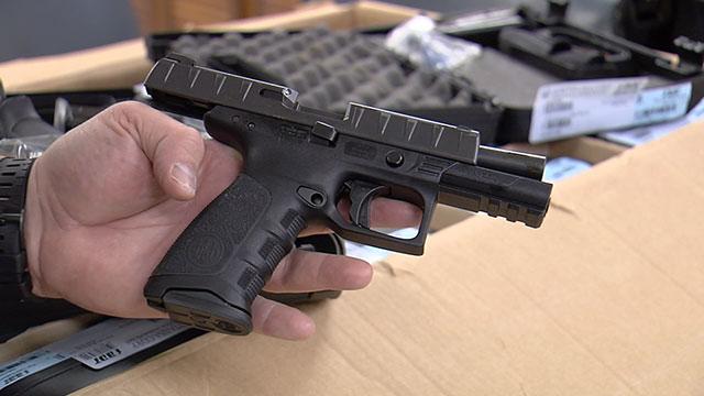 Beretta APX Gallatin police_466419