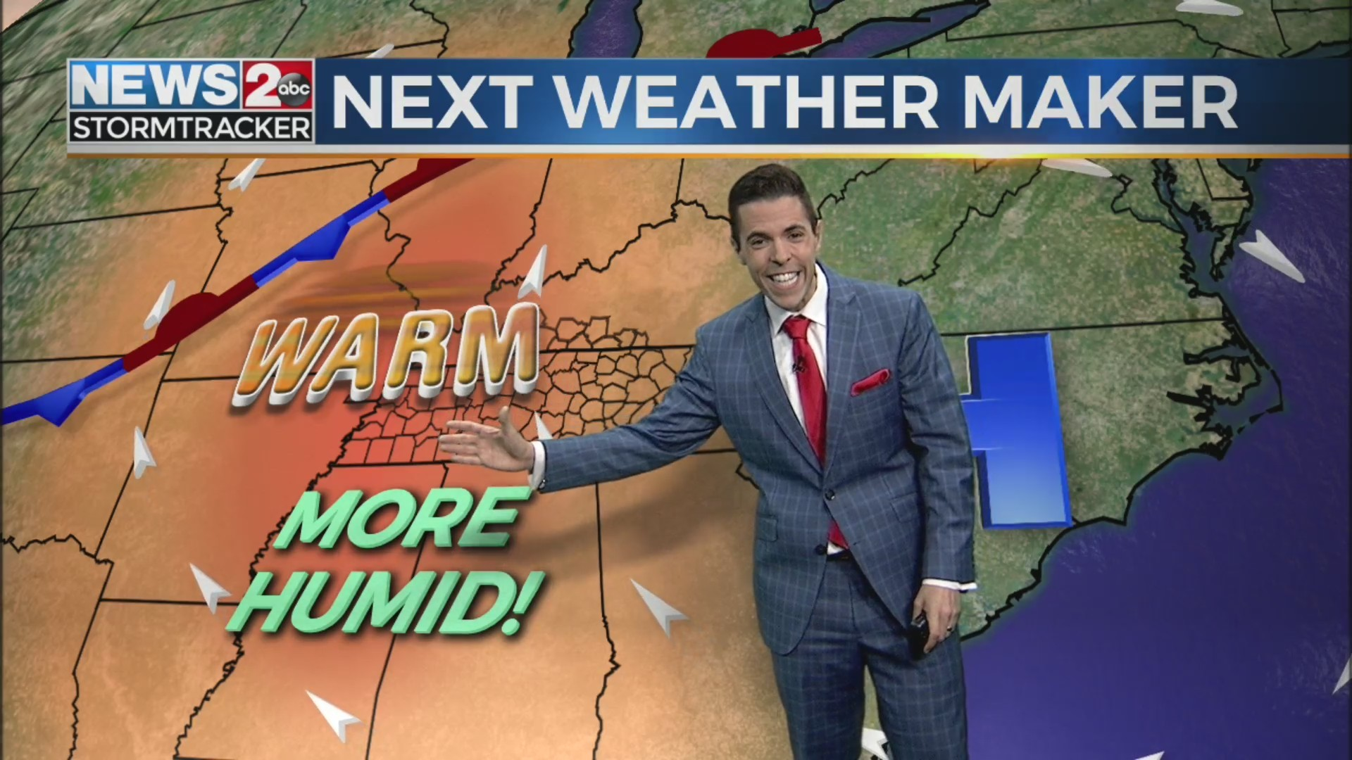 Warmer, more humid weather comes back