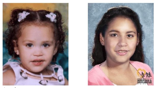 Missing child Jocelyn Emilia Turcios