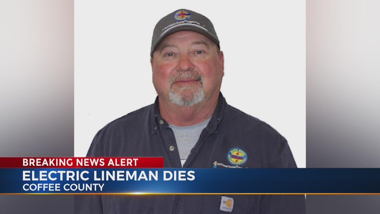 Electric lineman dies in Coffee County