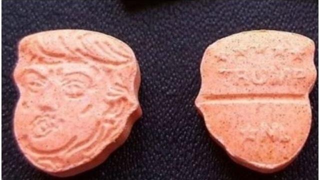 Trump ecstasy pills