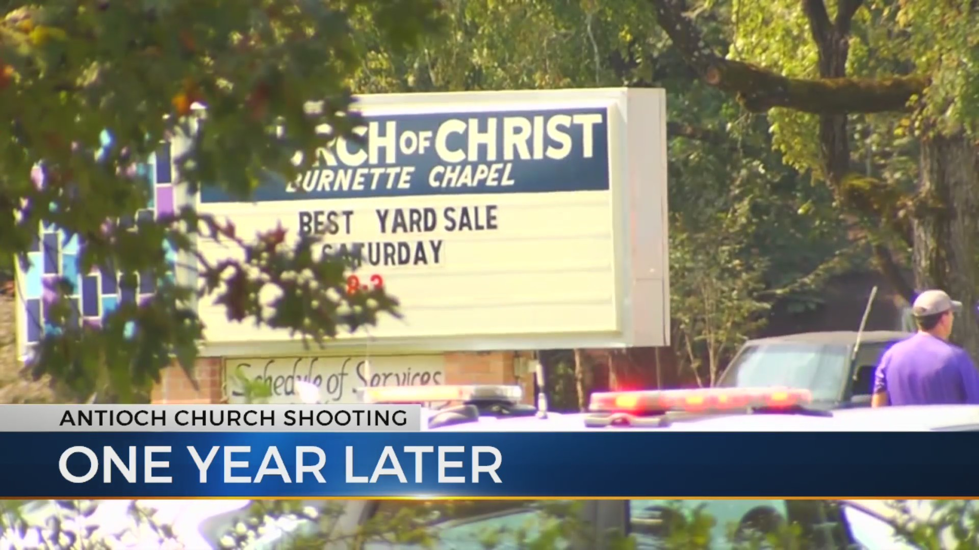 One year after Antioch church shooting