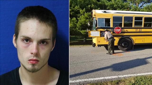 White Bluff kid hit near bus