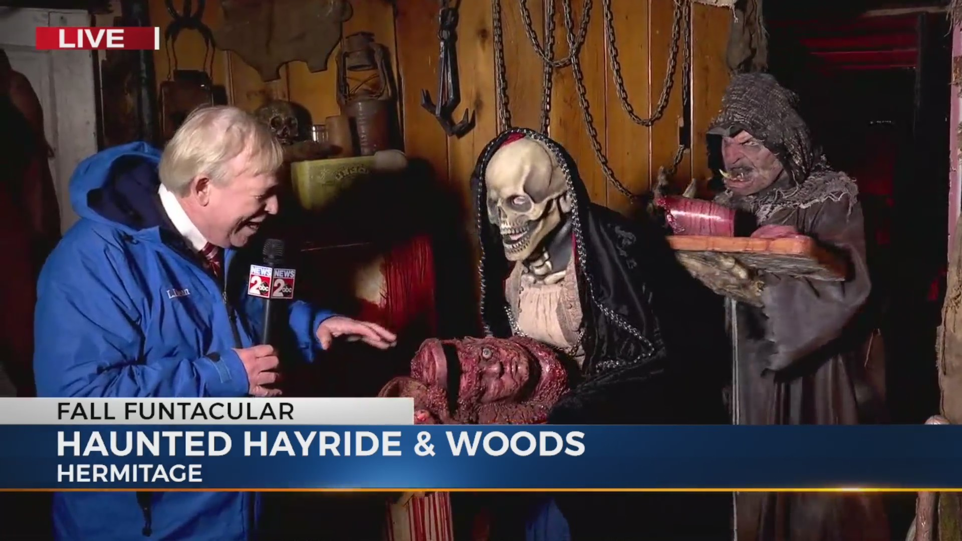 Davis Nolan's Fall Funtacular: Nashville Haunted Hayride & Woods