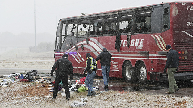Mississippi bus crash