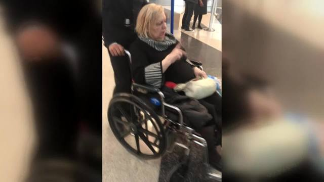 disabled woman left O'Hare