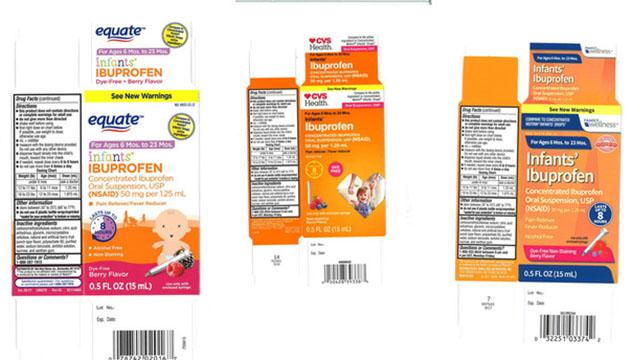 Ibuprofen recall