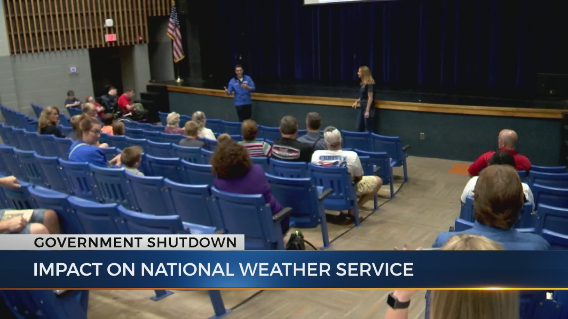 Local National Weather Service impacted by shutdown