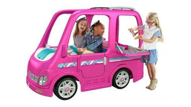 Barbie camper recall