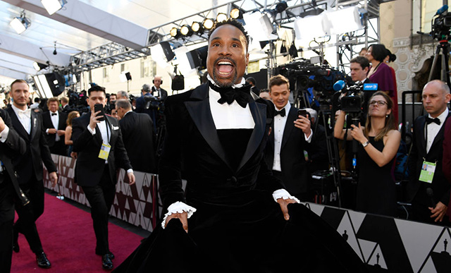 Billy Porter at the Academy Awards
