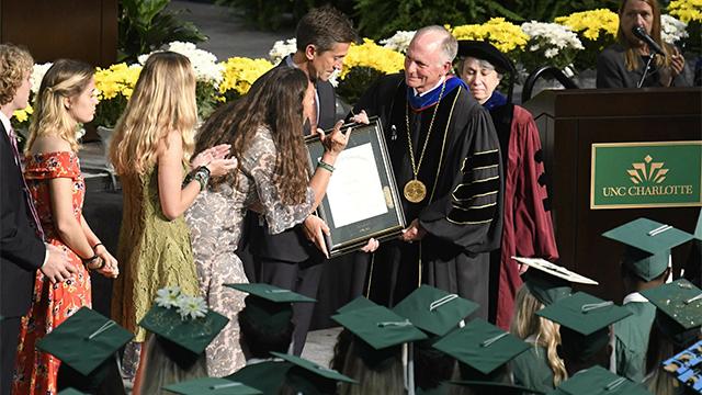 Riley Howell graduation