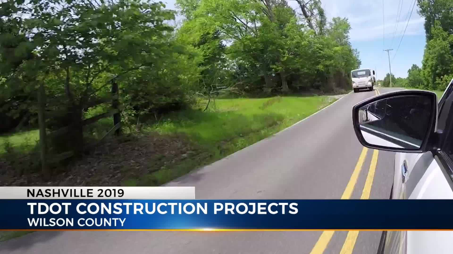 Four major road projects in Wilson Co  get added to TDOT's