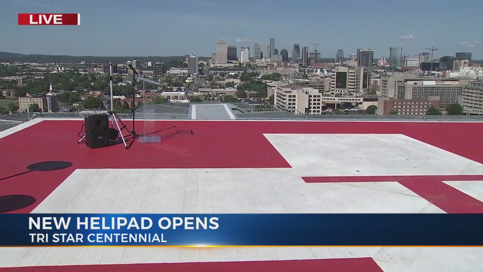 New Helipad on TriStar Centennial