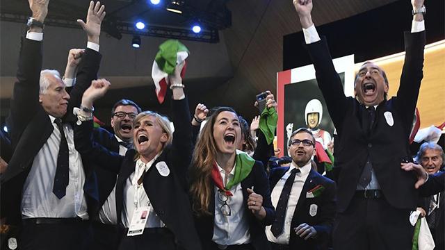 Italy Winter Olympics