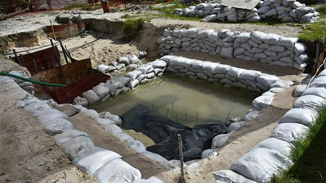 World War II graves found