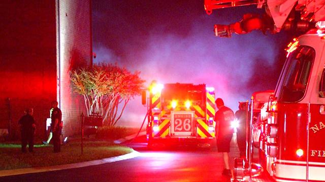 St. Ignatius fire