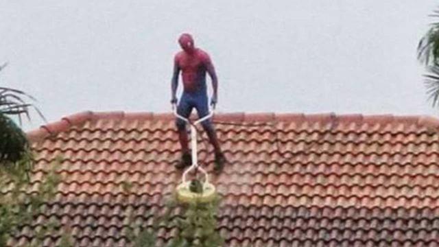 Spiderman pressure washer