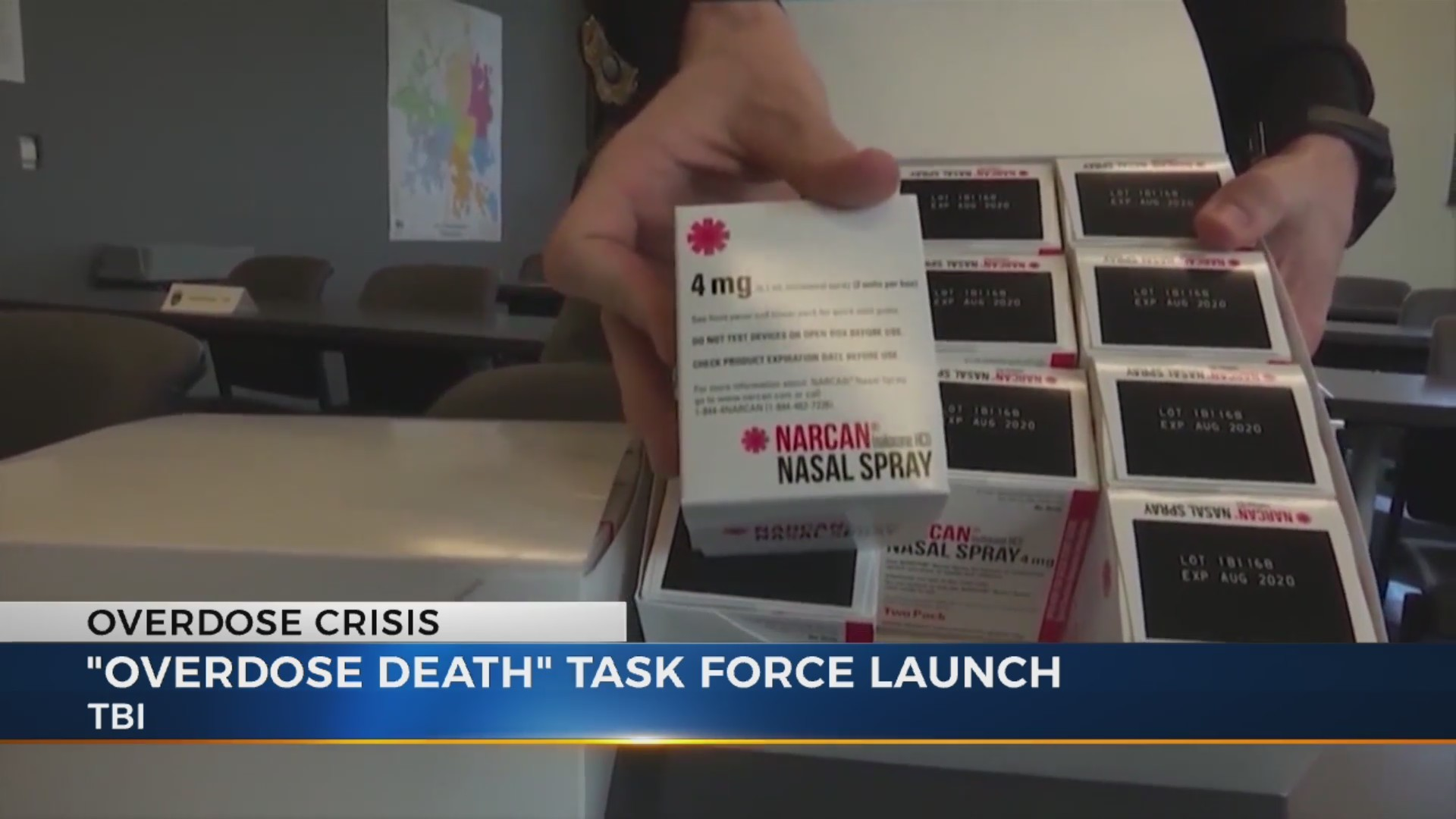 TBI task force overdoses