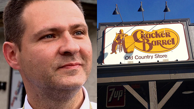 Grayson Fritts with Cracker Barrel