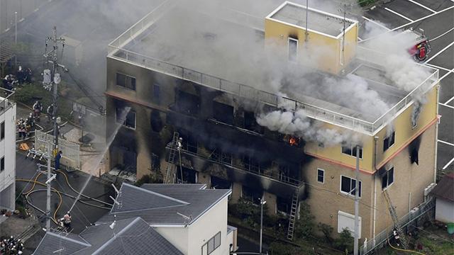 Japan animation arson