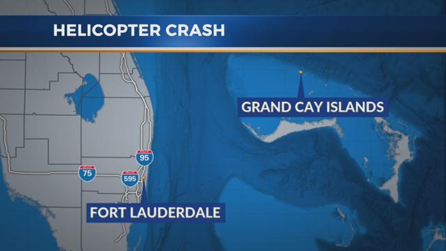 Bahamas helicopter crash