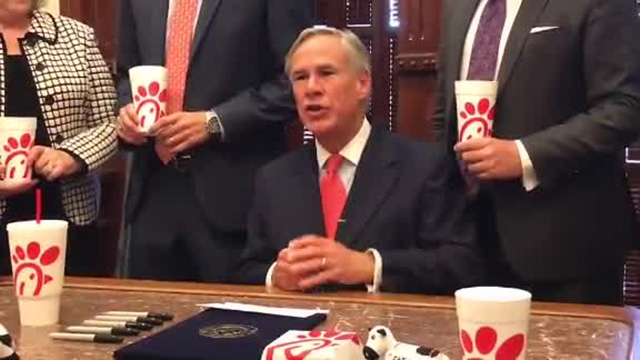 Chick fil A bill signed into law