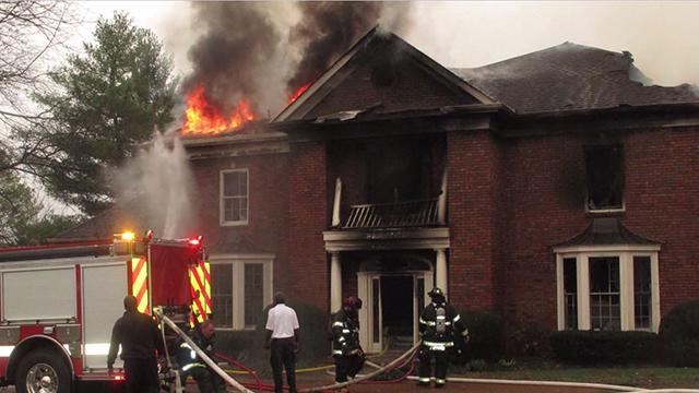 West Nashville hoverboard fire