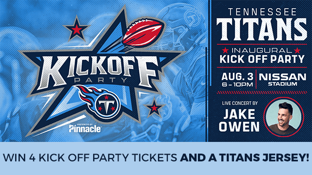 e547f966 Titan up with the Tennessee Titans Kickoff Party, News 2 at Nissan ...