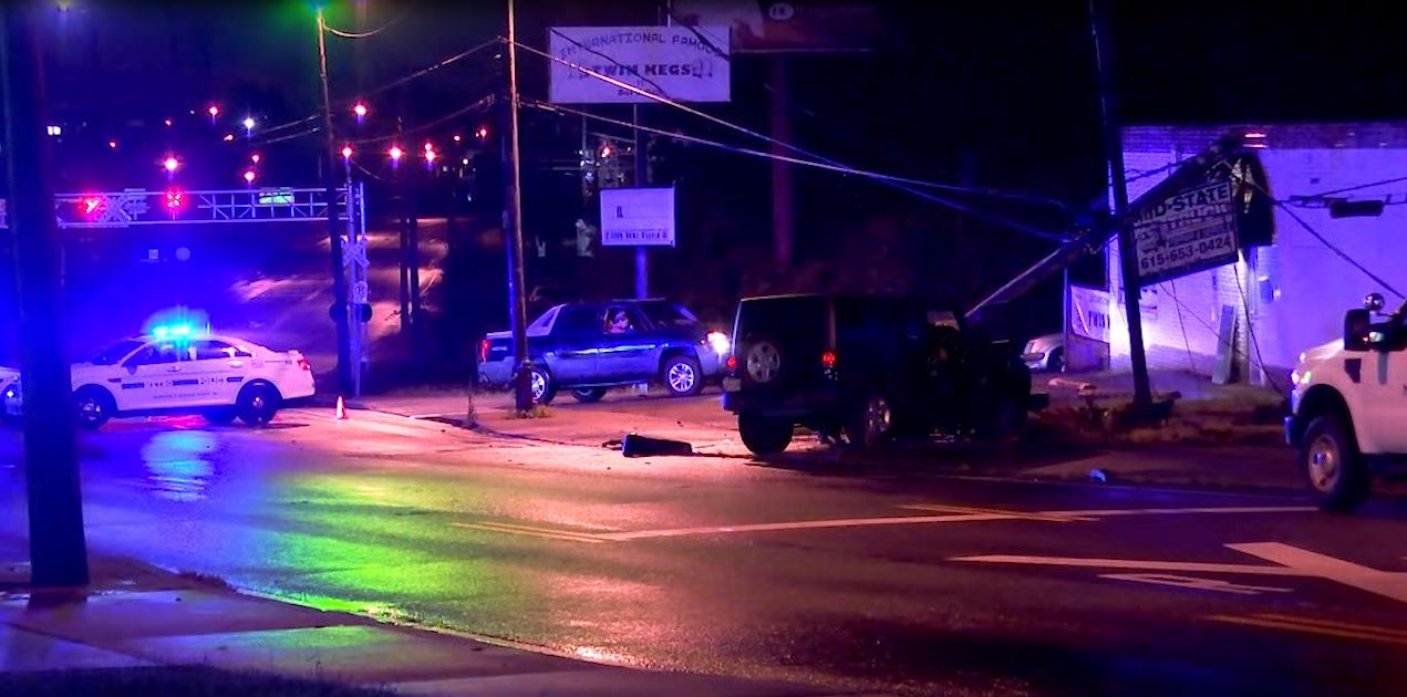 Hermitage Ave crash