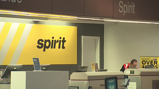 Spirit Airlines airport generic
