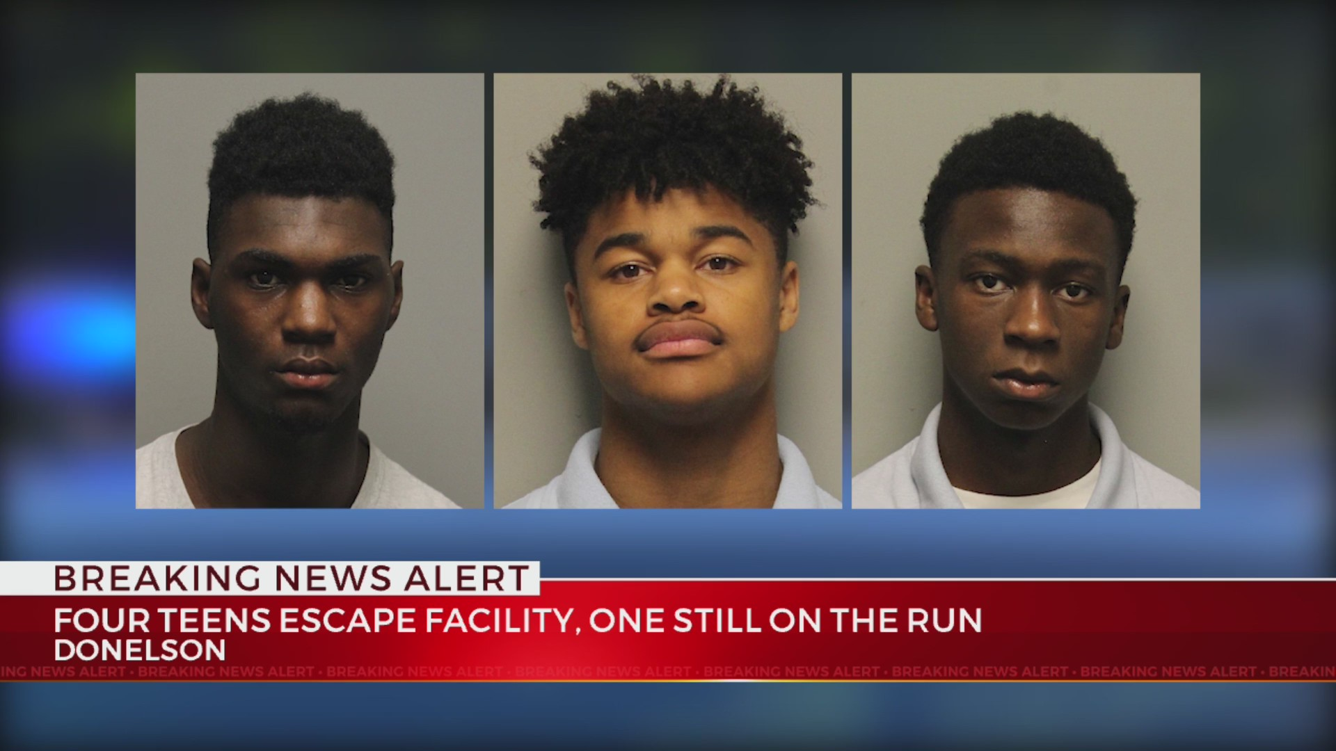 Three teens escaped