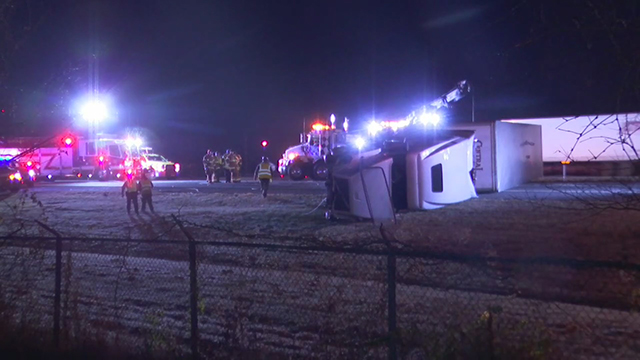 I-65 Goodlettsville rollover crash