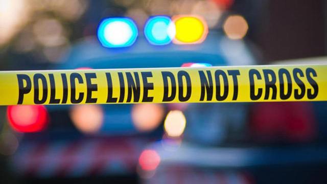 Police crime scene tape generic