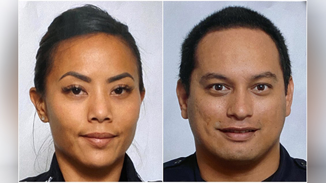 Fallen Hawaiian officers