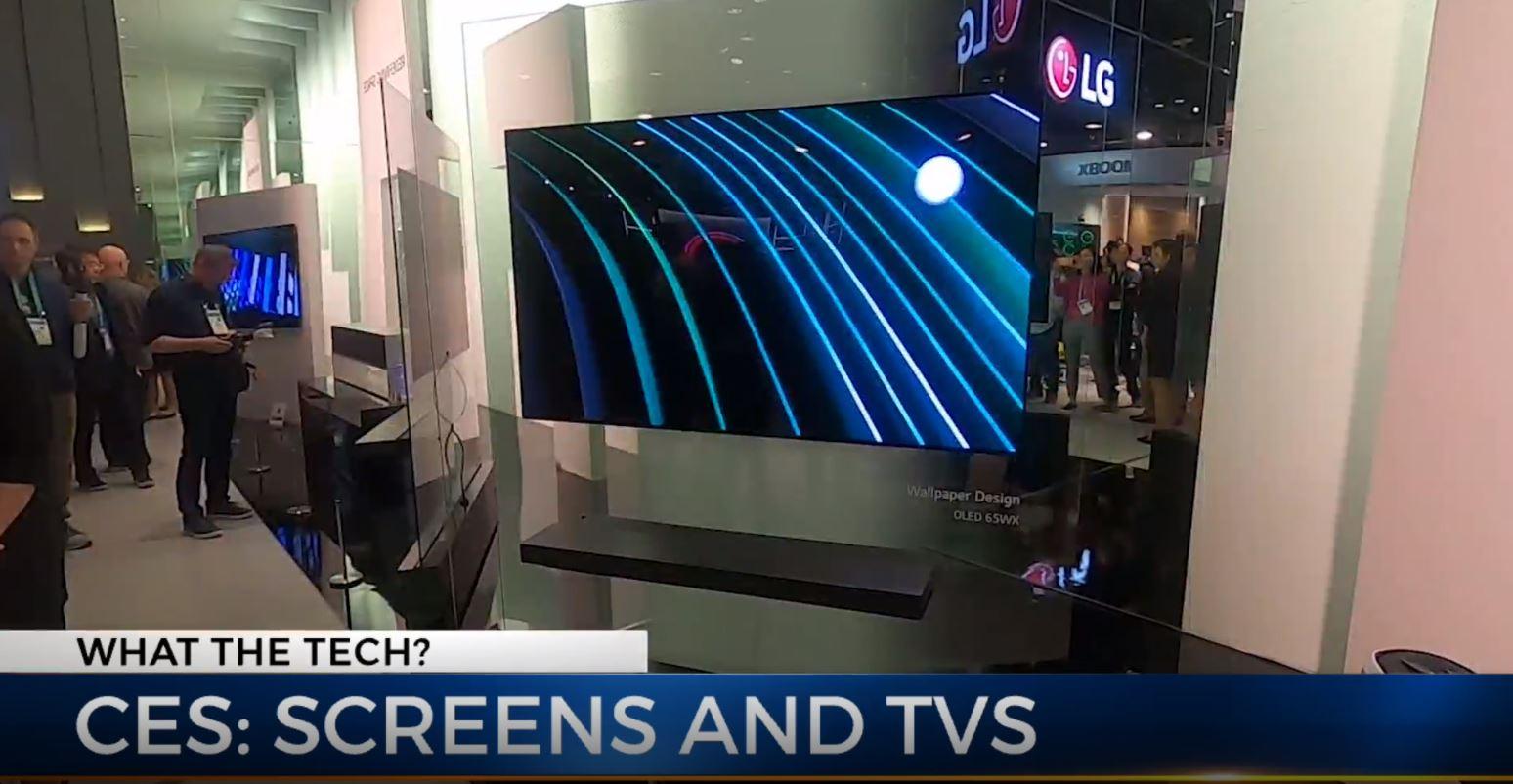 CES screens