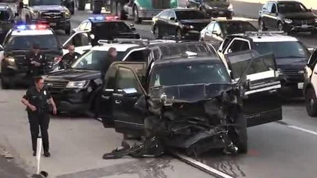 California hearse crash
