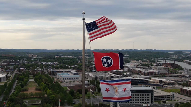 Nashville Tennessee Capitol flag generic