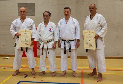 Giuseppe Carloni, Hideho Tagaki, Roberto Danubio and Maurizio Paradisi