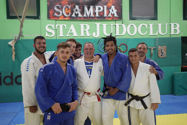 WKSI is side by side with the anti-Camorra dojo of Scampia