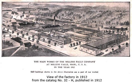 Millers Falls Company Greenfield Massachusetts