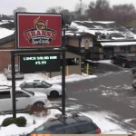 Brann's Sizzling Steaks & Sports Grille still operates from its original site on Division in Wyoming.