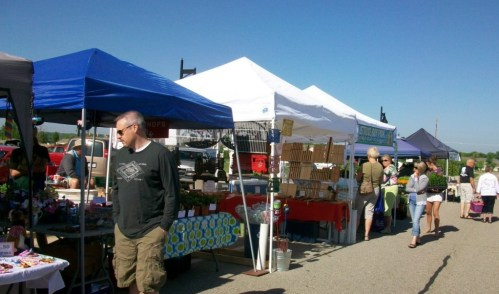 At the Metro Health Farmer's Market, not every booth is farm produce - some are fine crafts, coffees and spices, offering shoppers a variety of local goods to choose from.