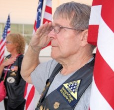 A warm welcome greets Veterans returning to West Michigan.