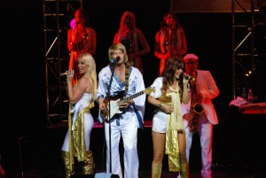"""ABBA-tribute group Arrival from Sweden performs """"The Music of ABBA"""" at Van Singel Fine Arts Center May 3."""